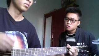 Demo Mong Manh(acoustic cover) Guitar:Huy Chin - Vocal: Quang Bill