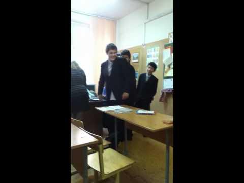 мои одноклассники на уроке английского языка