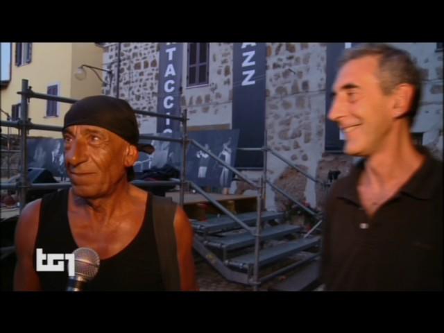 Tg1 18 luglio 2015 - Ortaccio jazz Festival