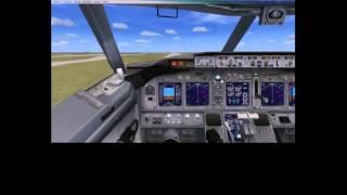 FSX AirTran Virtual Boeing 737-700 Takeoff 8R at KATL
