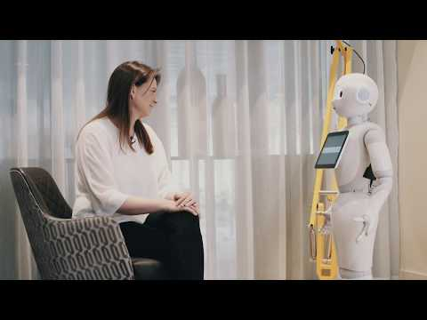 Recruiting a robot