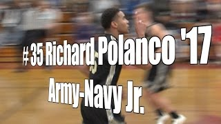 Richard Polanco '17, Army-Navy Junior at 2015 UA Holiday Classic