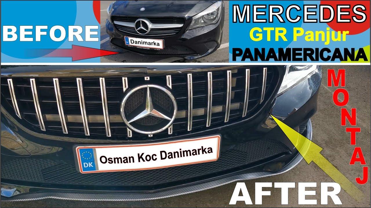 Mercedes GTR Panjur Montaj | PANAMERICANA STYLE Front Grille