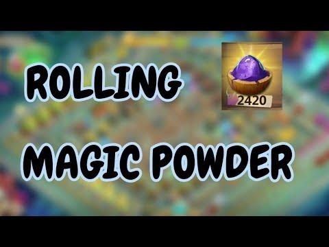 Rolling 2420 Magic Powder L Castle Clash