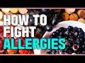 How to fight allergies naturally, histamine and ...