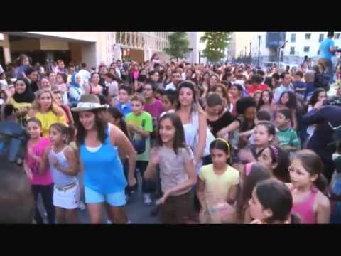 Beirut FlashMob  - Beirut Souks 2011