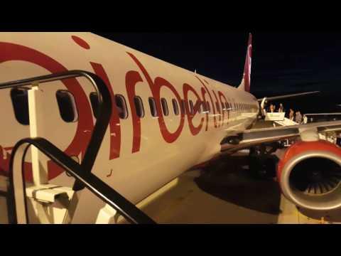 Air Berlin flight from Cologne/Bonn to Mallorca 2016