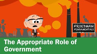 Gambar cover Friedman Fundamentals: The Appropriate Role of Government