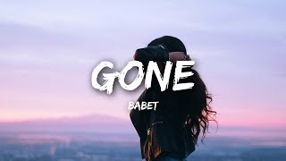 Babet - Gone (Lyrics)