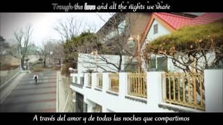 Gambar cover Lasse Lindh - Run To You  [Sub español + Lyrics] Angel Eyes OST