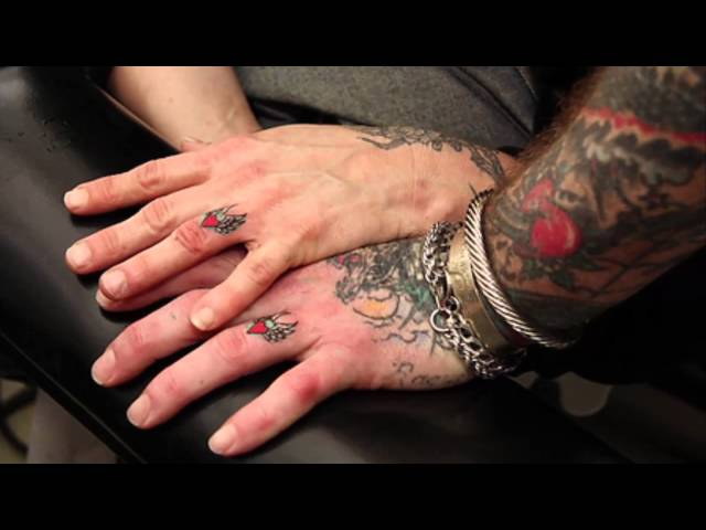 12 Coolest Wedding Ring Tattoo Designs [ AMAZING TATTOO IDEAS ]