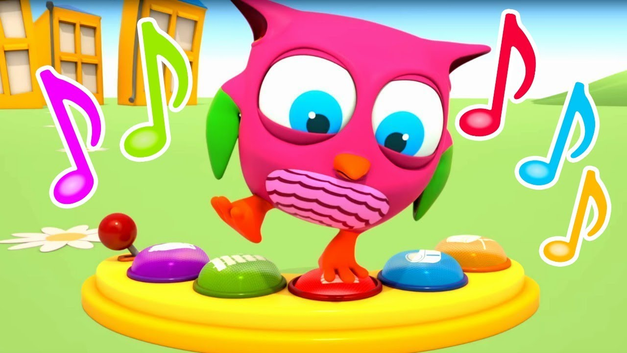 Download @Hop Hop the Owl Baby Cartoon: Kids Learning Sounds with Educational Toys - A Toddler Learning Video