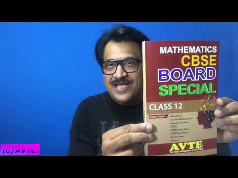 CBSE Board Special Book Class XII Mathematics || Complete Power Package