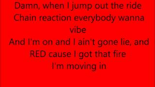 Trina Long heel red bottoms lyrics