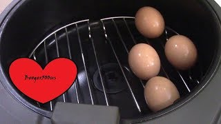 HARD BOILED EGGS AIR FRYER?