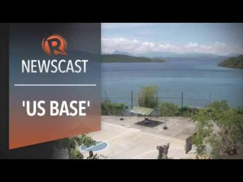 Construction begins in 'US base' Oyster bay