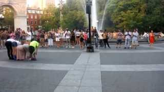 Waverly Place 2 Short Washington Square Park Greenwich Village NYC 21 July 2013