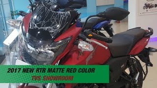 TVS Apache RTR Matte Red Color-Quick Look