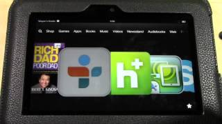 Kindle Fire HD: How to Listen to the Radio | H2TechVideos