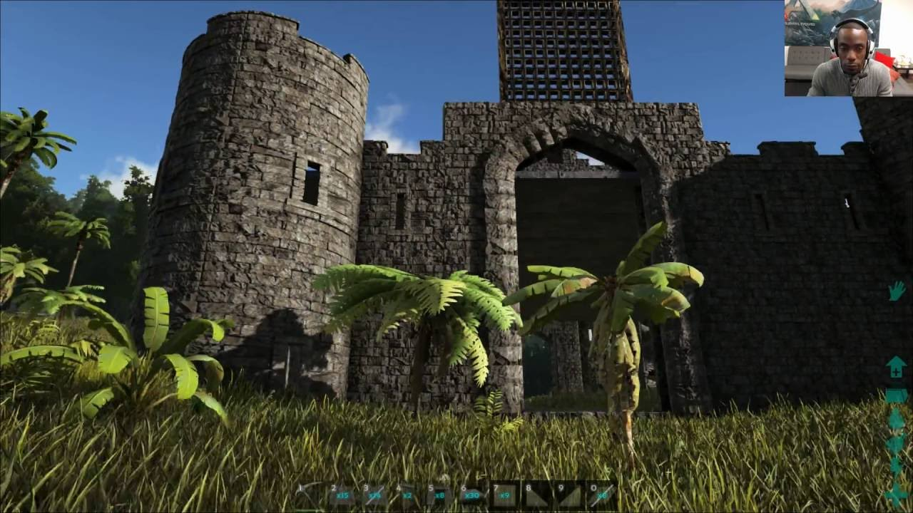 ark workshop spotlight: castles, keeps, and forts architecture
