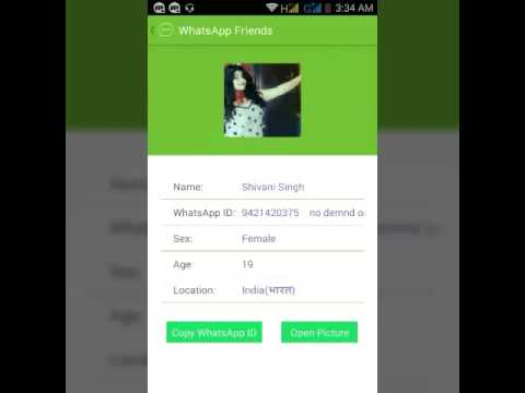How To Get A New Girl's Whatsapp Number Right Now | Whatsapp Hack