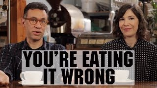 You're Drinking Coffee Wrong (with Fred Armisen and Carrie Brownstein) | Food Network