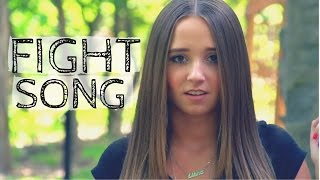 Fight Song - Rachel Platten | Ali Brustofski Cover (Music Video)