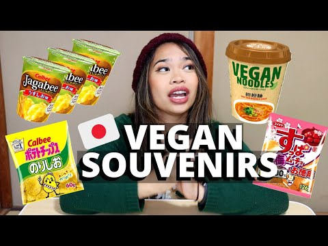 Vegan Souvenirs in Japan
