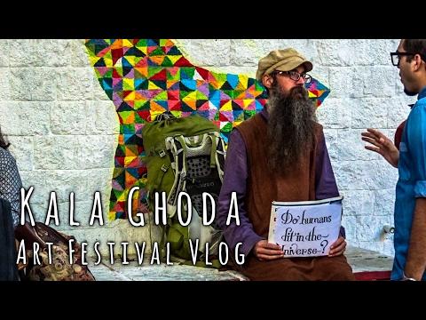 Kala Ghoda Art Festival Vlog 2017