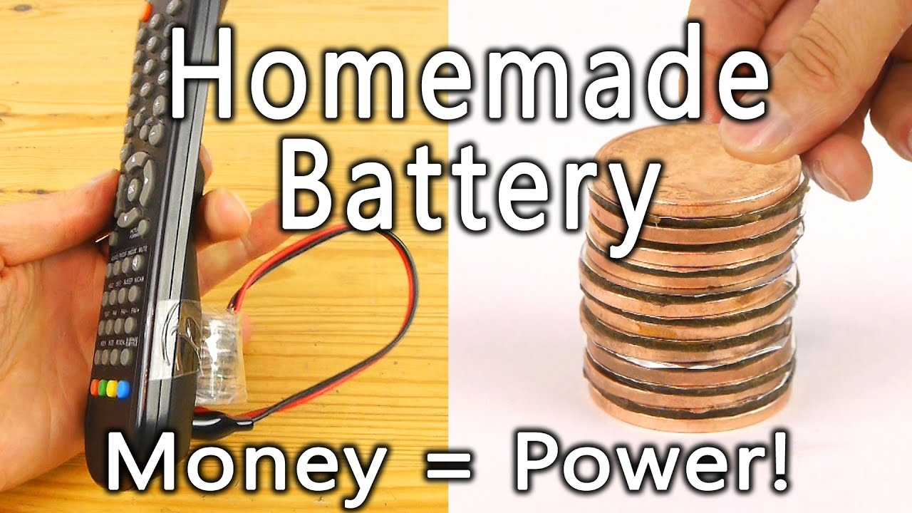 How To Make A Coin Battery Youtube Simple Highpower Led Driver Circuit Light Flashlight Circuitedited