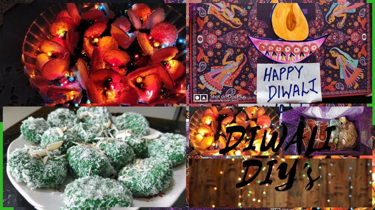 Diwali Diys Decoration Sweets Gift Ideas Arushi Patkey Youtube