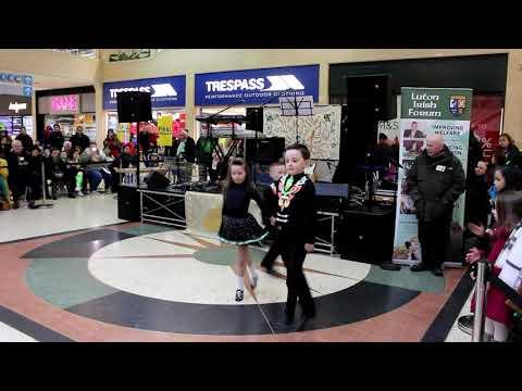 St Patricks Day 2018 - Luton.  Irish Dance Compilation