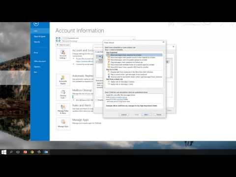 How To Automatically Forward & Redirect Emails In Outlook 2013