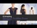 8 Amazing Plunging Neckline Prom Dresses Amazon Fashion Collection 2017