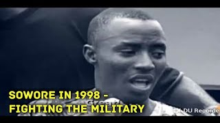 1998: SOWORE FIGHTS FOR MKO ABIOLA