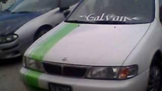 MI SENTRA FUSSION STYLE TUNING AUTO CLUB SALTILLO COAHUILA.