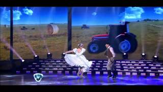 Showmatch 2014 - Aníbal Pachano brilló en el folclore