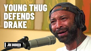 Young Thug Defends Drake Against Pusha T | The Joe Budden Podcast
