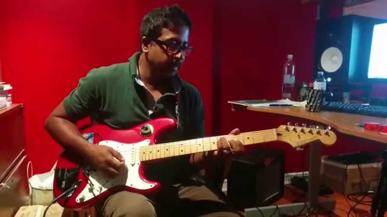 Kaththi Selfie Pulla How To Play Intro Guitar Lesson Youtube
