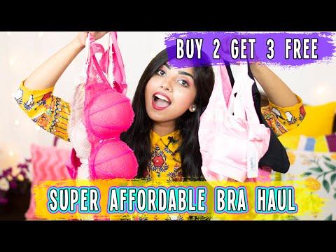 Most Affordable Lingerie Haul | Best Online Bras Shopping | Online Bra | Shyaway Bra 🤩