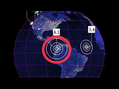 //ALERT\\ 6.1 Earthquake EL Dovio, Columbia / Incoming Space Weather Today