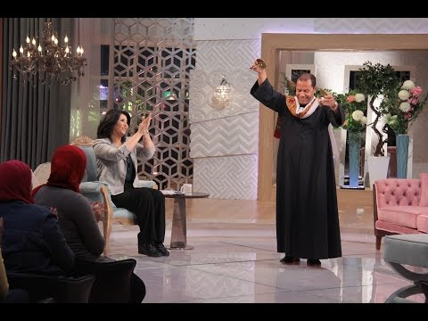 معكم منى الشاذلى - شاهد رقص مؤسس فريق Egyptian Project علي أغنية سقاني الغرام