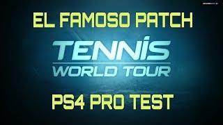 PS4 PATCH Test Tennis World Tour Legends Edition