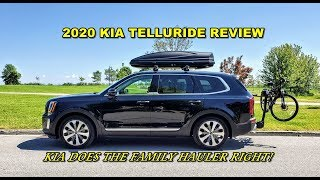 2020 Kia Telluride Review - Kia Does the Family Hauler Right!