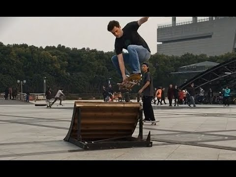 Clips of me skating in Shanghai and Kunming