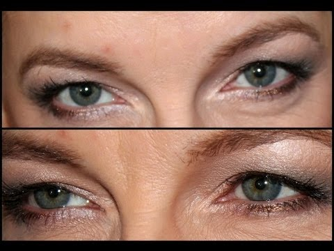 Makeup for Hooded AND blue/green Eyes