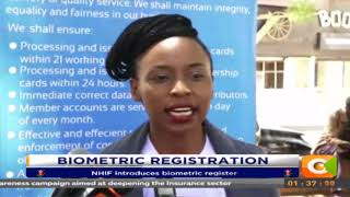 NHIF introduces biometric register