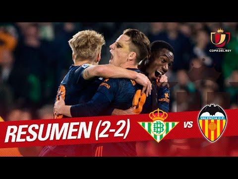 Resumen de Real Betis vs Valencia CF (2-2)