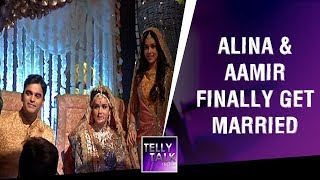 Alina & Aamir get married as Sameer reaches with a gun | Ishq Subhan Allah