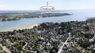 Vue aérienne de La Trinité sur Mer